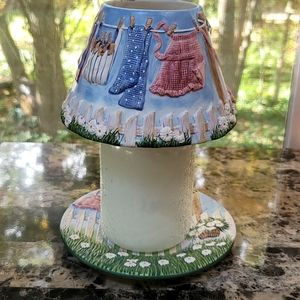 ☆ Yankee Candle ☆ Candle Plate & Shade